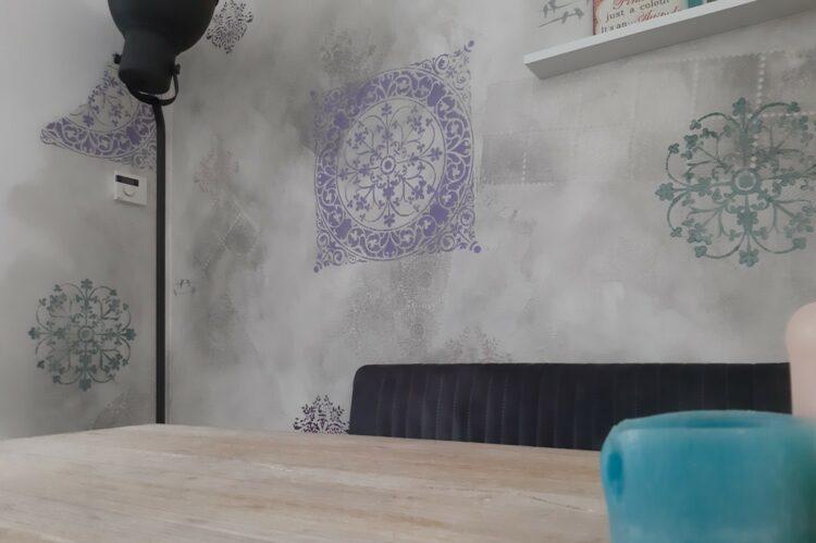 betonlook eetkamer sjablonen calcecruda