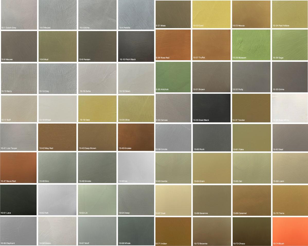 kleuren basebeton